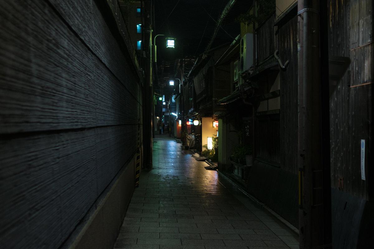 祇園 裏道