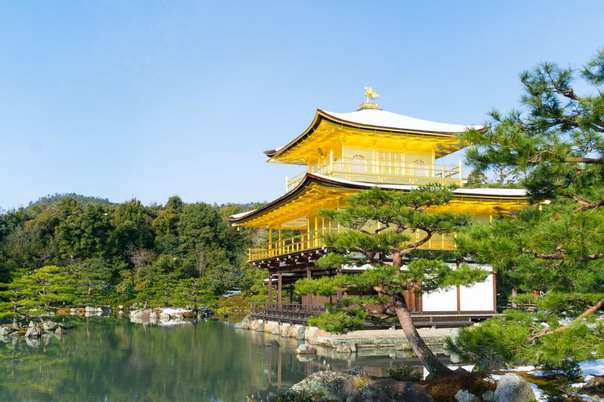 京都 金閣寺 世界遺産