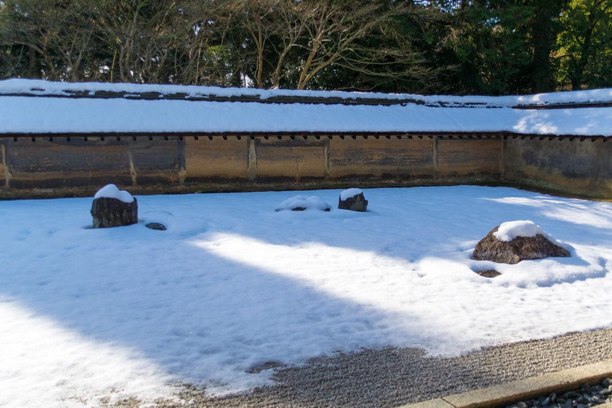 京都 世界遺産 龍安寺