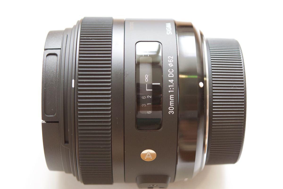 シグマ単焦点レンズArt30mm