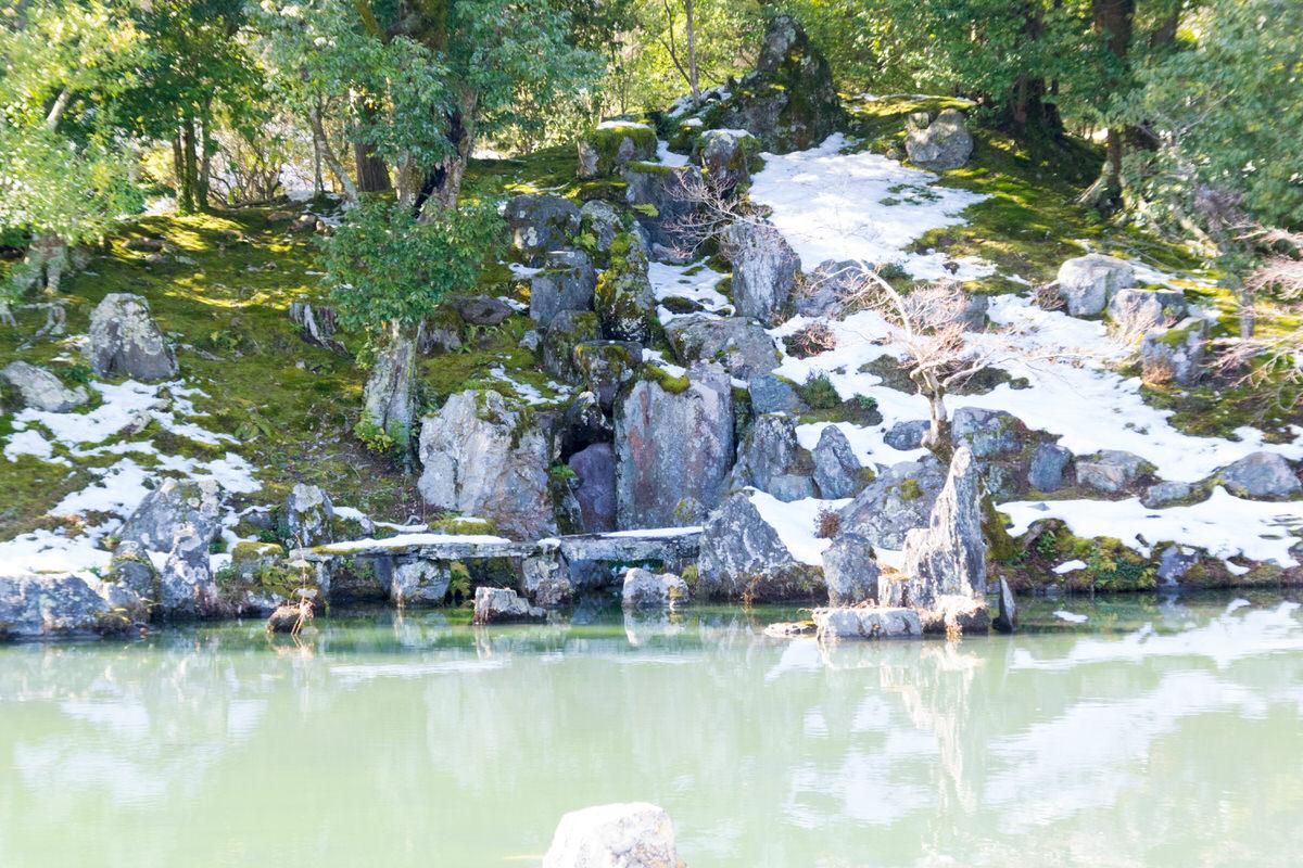 嵐山 天龍寺 石庭