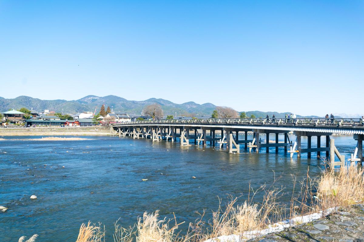 渡月橋 嵐山 京都