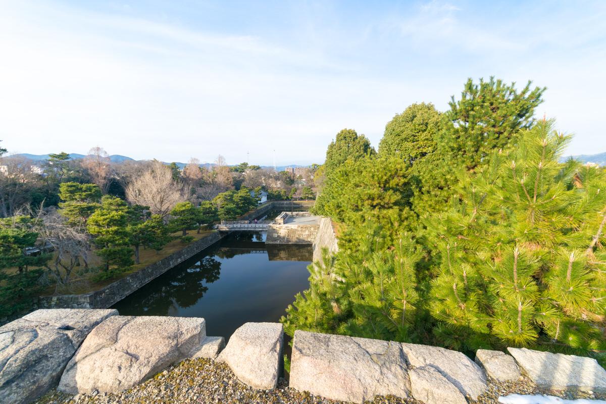 京都 二条城 天守閣