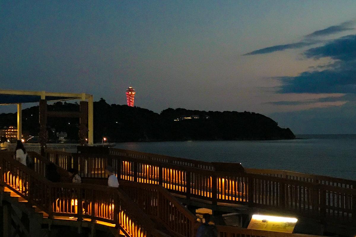 新江ノ島水族館 江の島シーキャンドル