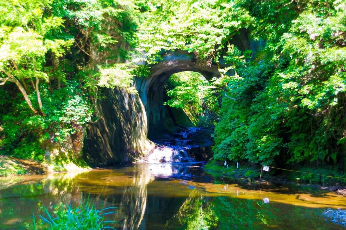 濃溝の滝 君津 ジブリの森
