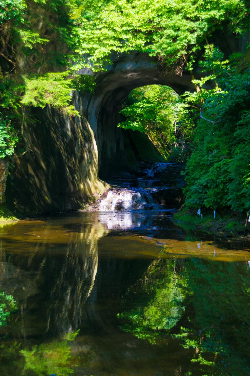 濃溝の滝 君津