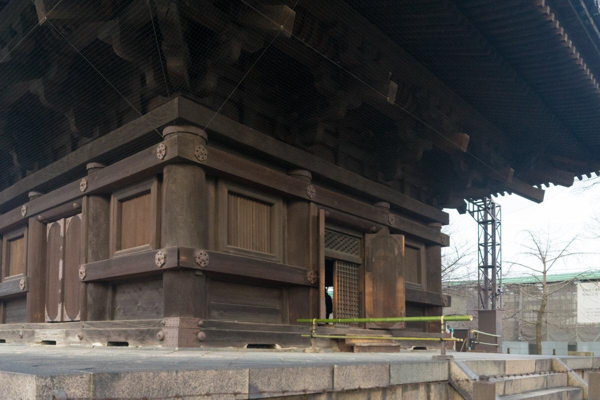 東寺 五重塔 初層