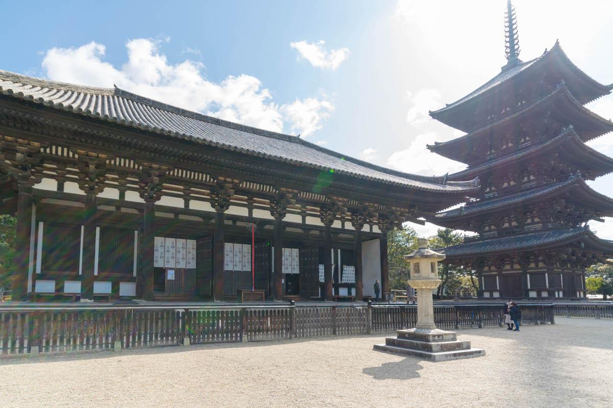 奈良 興福寺 東金堂