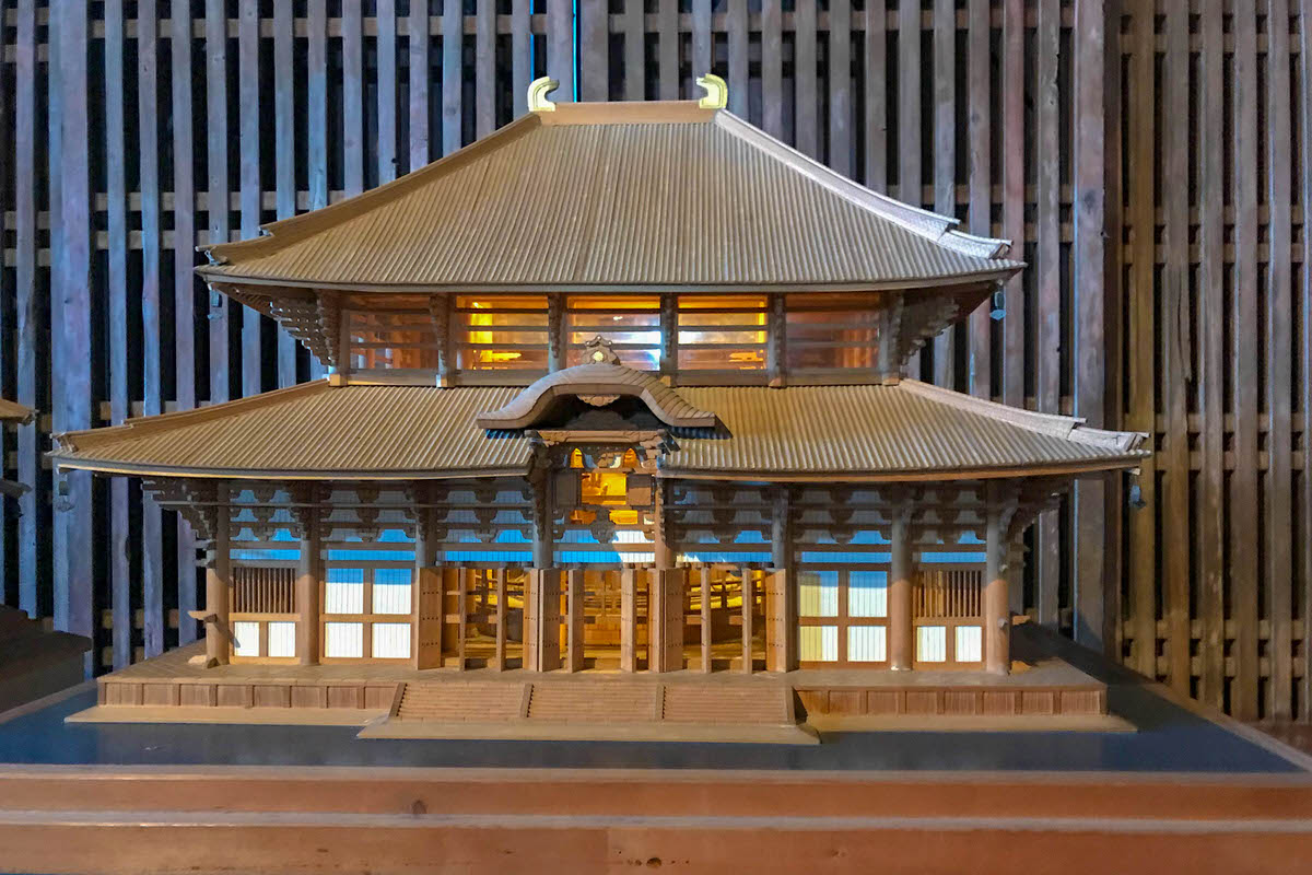 東大寺 大仏殿 模型