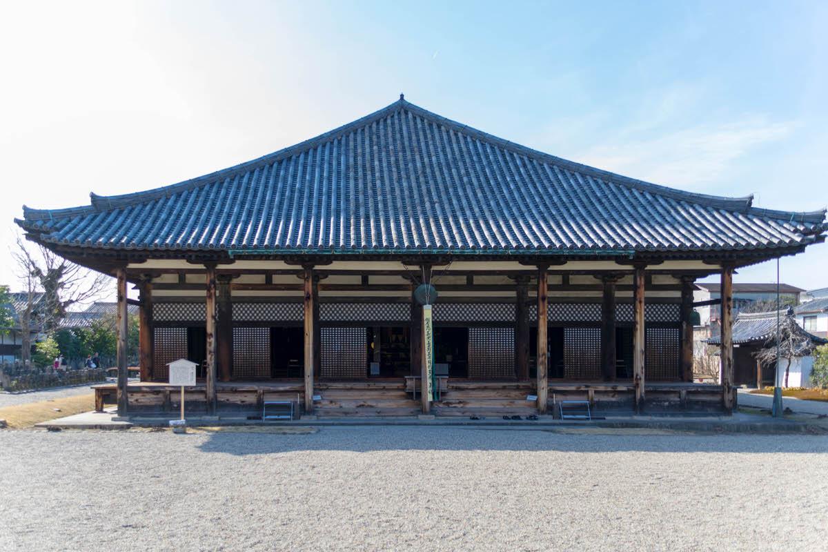 元興寺 国宝 極楽堂