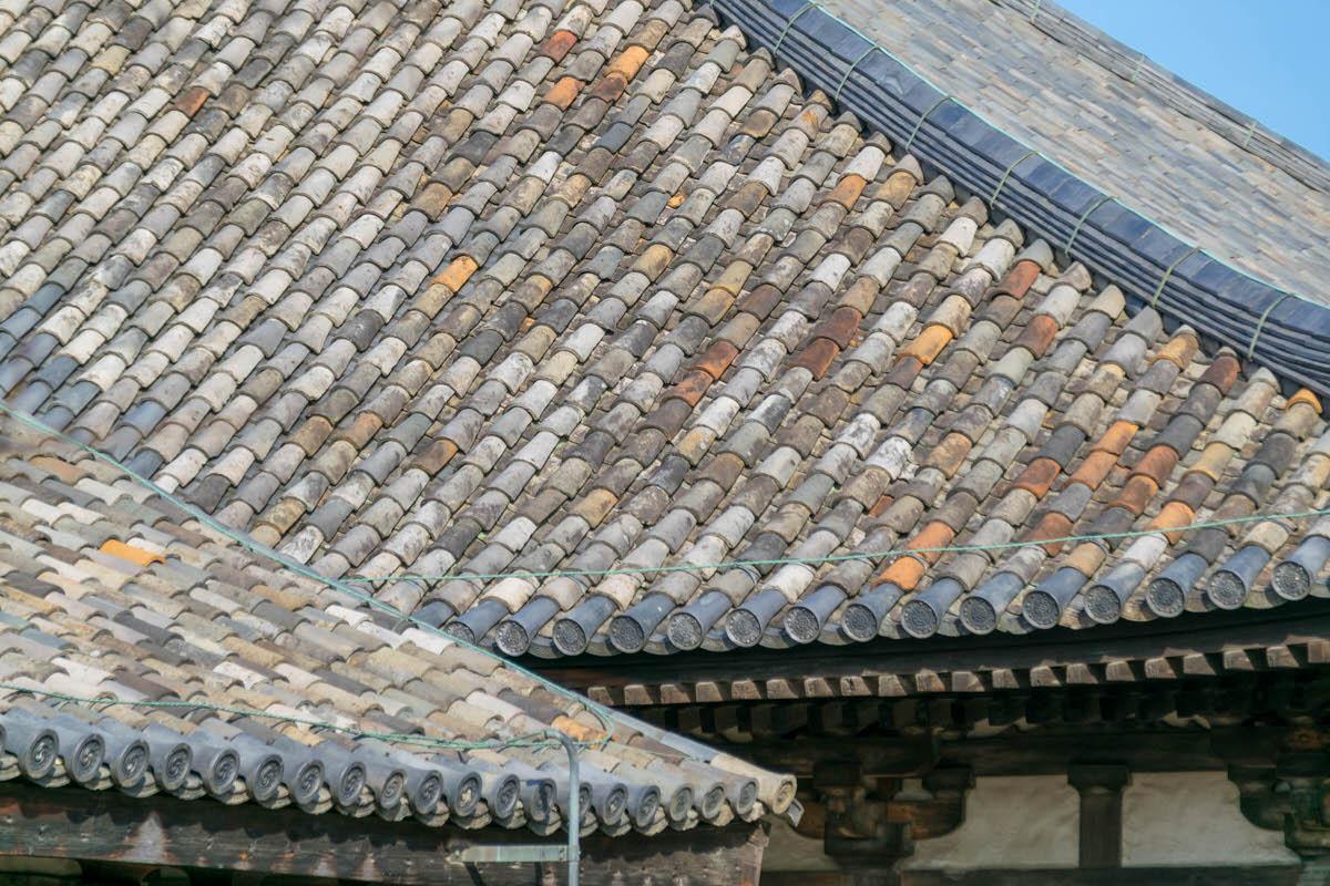 元興寺 日本最初の瓦