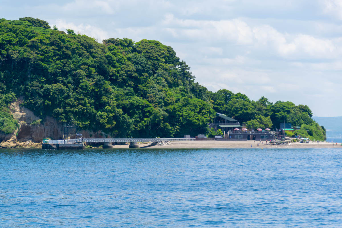 猿島 船着き場