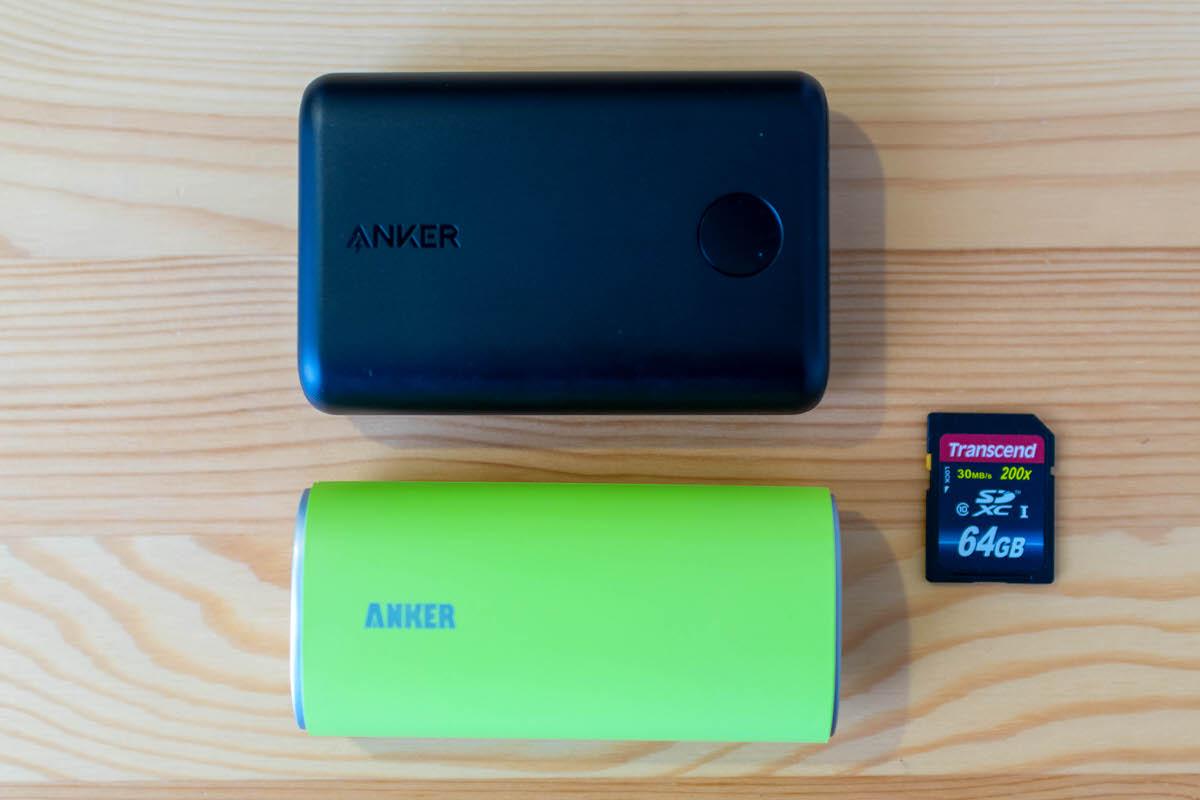 Anker PowerCore ll モバイルバッテリー