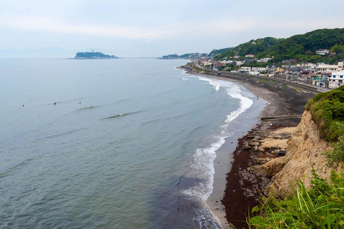 稲村ヶ崎 海岸