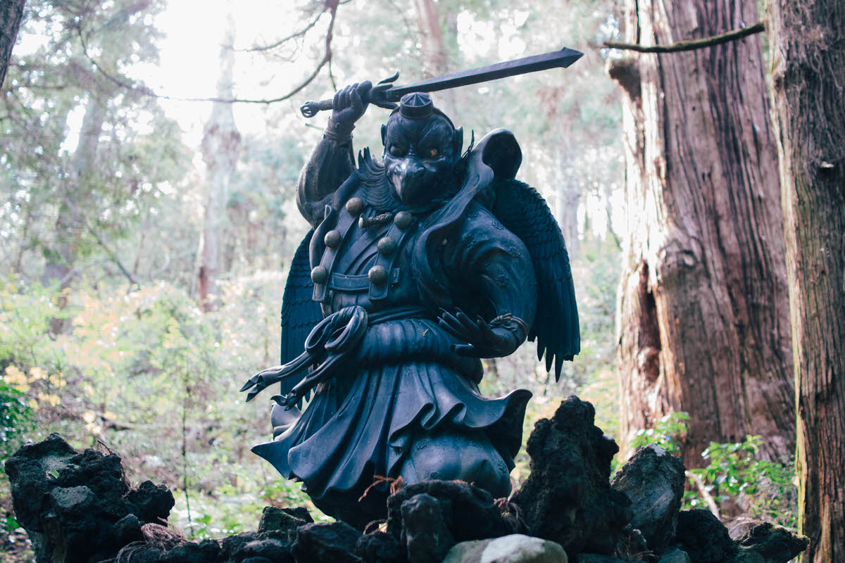 天狗伝説のある大雄山最乗寺のパワースポットめぐりへ