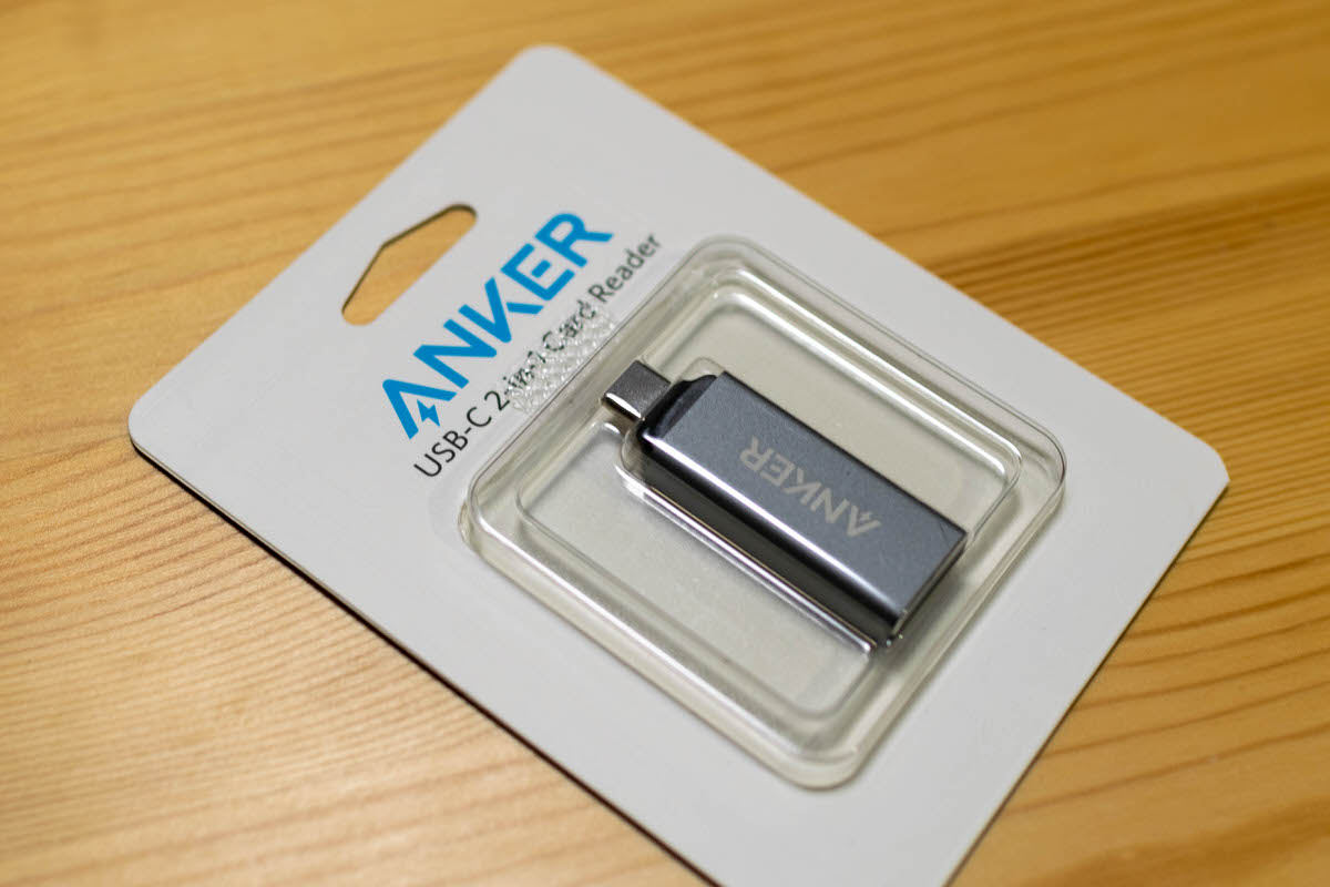 anker usb-c 2-in-1 card reader