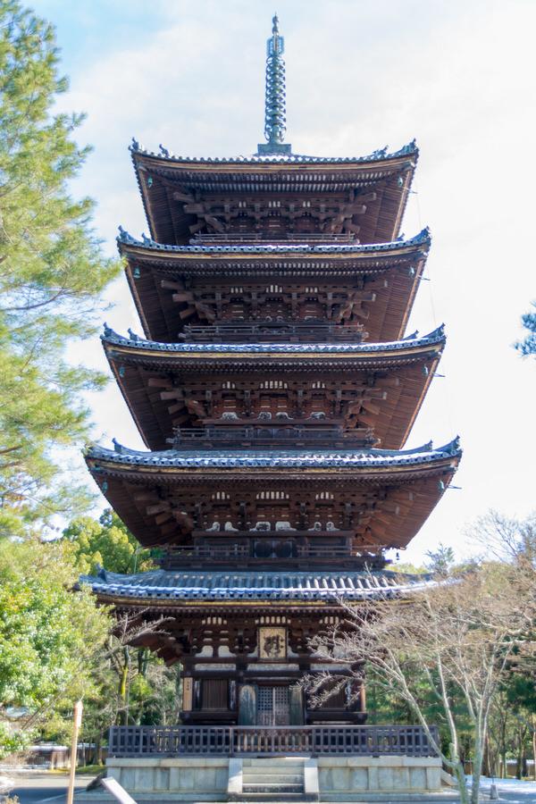 仁和寺 世界遺産 五重の塔