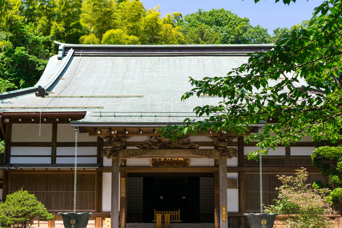 報国寺本殿